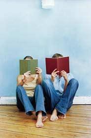 teens reading