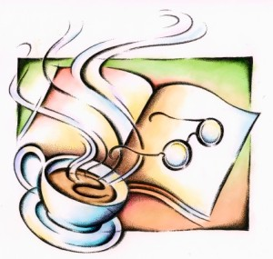 books-and-tea drawing