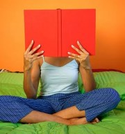 woman-reading-a-book-solitary-