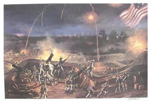 fort mchenry under siege