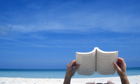 Reading-a-book-on-the-beach