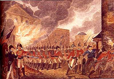 WhiteHouseBurning 1812