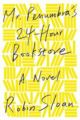 Mr. Penumbra's 24-Hour Bookstore cover photo