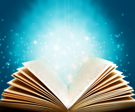 shutterstock_52292377 Magic book of fantasy stories