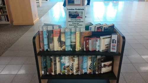 Louise Erdrich display
