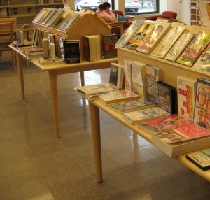 book displays