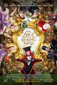 alice thru the looking glass movie