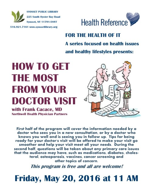 how to get the most out of doctor's visit